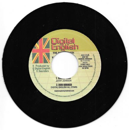 Jerry Johnson - Korner Sax / dub / Trevor Spark - I Love Jah / dub (Digital English) 7""